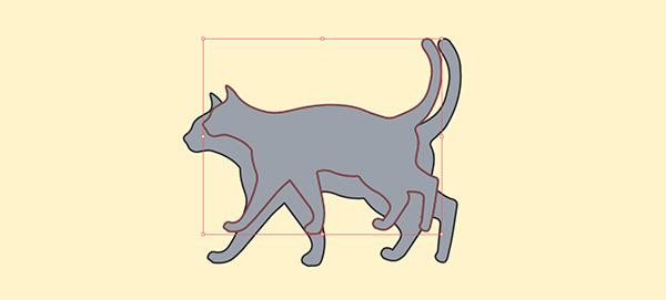 Illustratorでオブジェクトに均等な縁取りを付ける